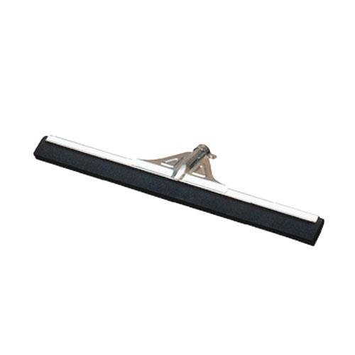Carlisle 36633000 Flo-Pac Soft Foam Rubber Squeegee with Reinforced Metal Frame, 30'' Length, Black