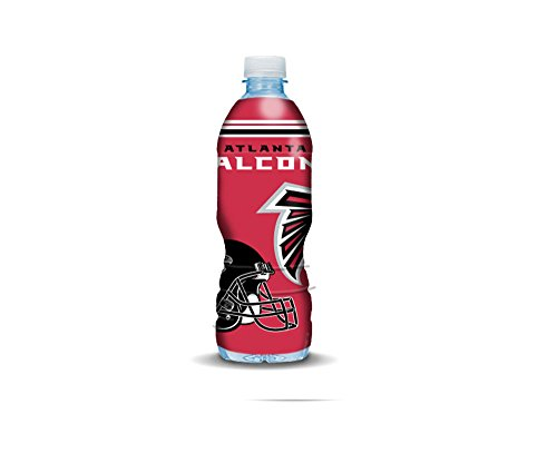 Bottle Skinz Mini - NFL Bottle Skin for Almost any Drink Bottle (ATLANTA FLACONS) (Flacon Bottle)