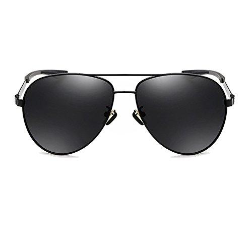 Hombres Polarizadas Espejo Gafas 100 Black De UV para TESITE Anti Sol Gafas 5qnS14n0t
