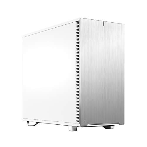 Fractal Design Define 7 White Brushed Aluminum/Steel E-ATX Silent Modular Mid Tower Computer Case