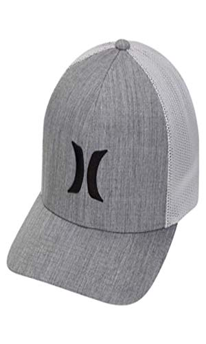 Hurley Icon Textures Trucker Hat - Cool Grey - S/M