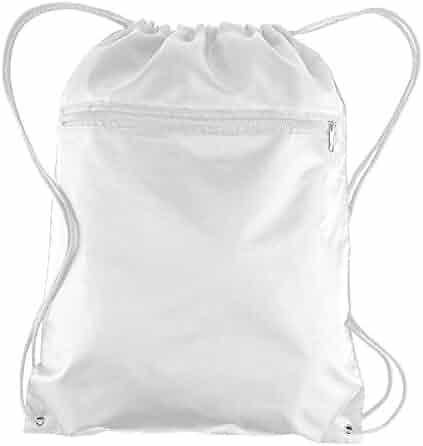 Honey Waterproof Drawstring Backpack Cinch Sack String Bag Gym Tote School Sport Packs Foldable Storage Bags