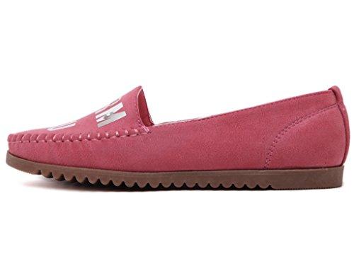 mujer de letras spangled de JDS rojos para en suaves Zapatos plataforma de de forma casuales Fortuning vYfqWxPIFw