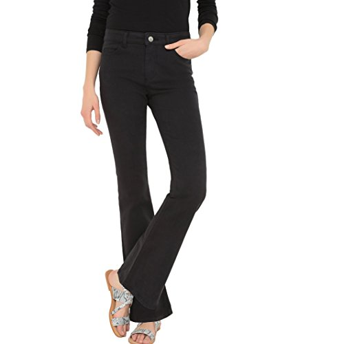 Jeans Donna Nero Redoute Collections La Bootcut tOv1Kq