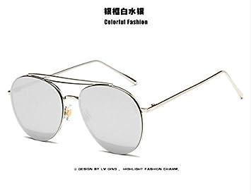 LXKMTYJ Movimiento de la Moda Gafas de sol Gafas de lente ...