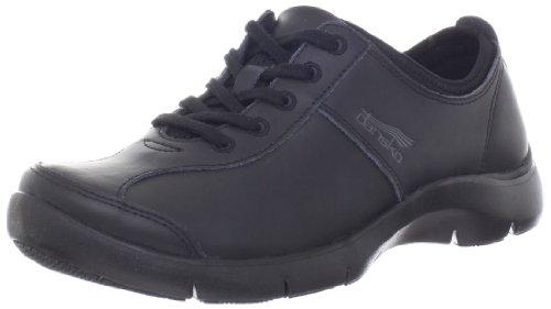 Dansko Women's Elise Sneaker,Black,39 EU/8.5-9 M US