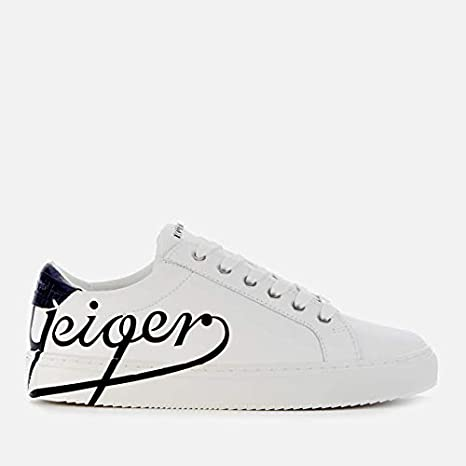 kurt geiger leather trainers