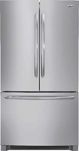 Frigidaire FGHG2368TF Gallery Series 36 Inch Freestanding Counter Depth Side by Side Refrigerator with 22.4 cu. ft. Capacity, in Stainless Steel