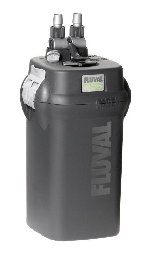 Fluval 205 External Canister Filter - 110V, 180 gallons per hour