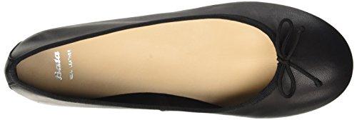 Black BATA Women's 5246144 Ballet 6 Flats Nero 88Tqgp
