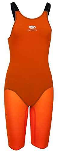 Blueseventy Nero TX Kneeskin Female Orange - Nero Suit
