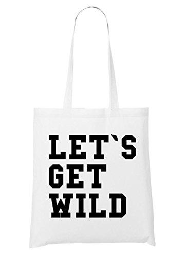 Let`s Get Wild Bag White