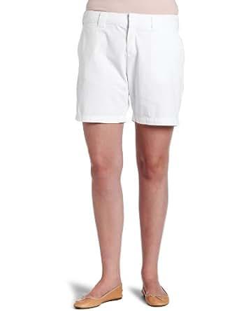 Dickies Women's 7 Inch Boyfriend Twill Short, White, 8