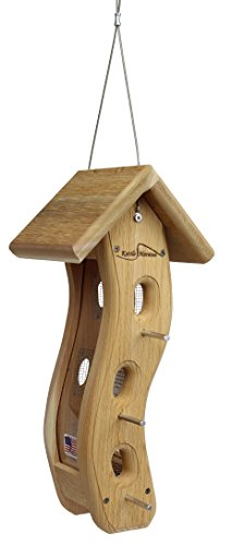 Kettle Moraine Small Wave Finch Feeder for Nyjer Thistle Seed Review