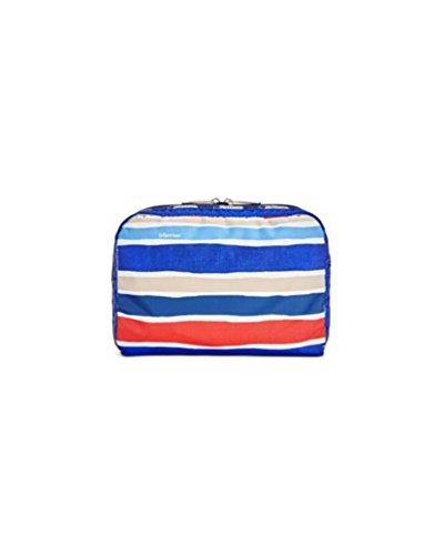 LeSportsac Classic Extra Large Rectangular Cosmetic Case (Cabana Stripe)