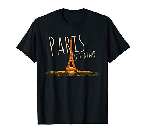 Paris Je T'aime - France Eiffel Tower Souvenir Gift T-Shirt