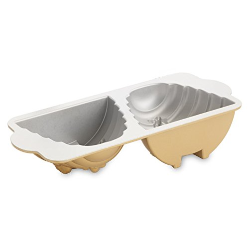Nordic Ware 54577 Beehive Cake Pan, One, Gold