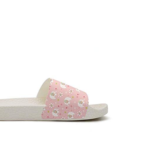 28 Slipper qiopw Bathroom Shoes Elephant Sandal for Slip Animal Ladies Shower Baby Indoor Womens White Cute rtw Non TTqwrRx