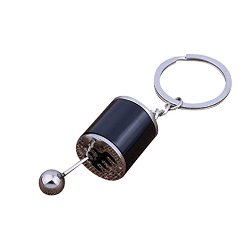 B-Creative Fidget Gear Knob Lever Gear Shift Keyring 6 Speed Gear Box UK Supplier Metal Gearbox Keyfob Key Chain Perfect Christmas Present Fast Delivery Red