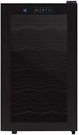 ★ Puerta de cristal con doble capa, protección UV.Evita que el vino tinto se deteriore por oxidació