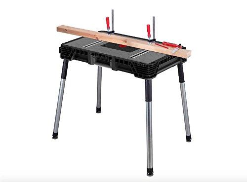 Husky 1.8 ft. x 3 ft. Portable Jobsite Workbench