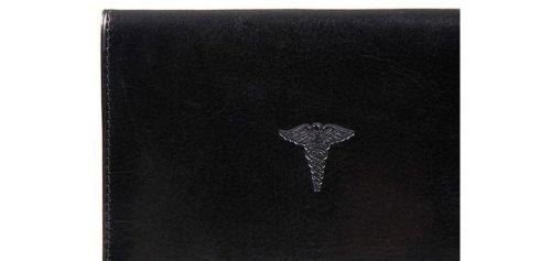 Bosca Old Leather Prescription Pad Organizer,Black by Bosca (Image #3)