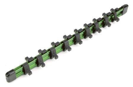 Aluminum Socket Rails for 1/4'' Drive Sockets - Holds 18