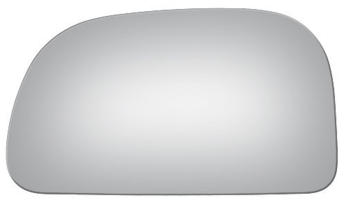1997-2002 Mitsubishi Mirage Flat, Driver Left Side Replacement Mirror Glass