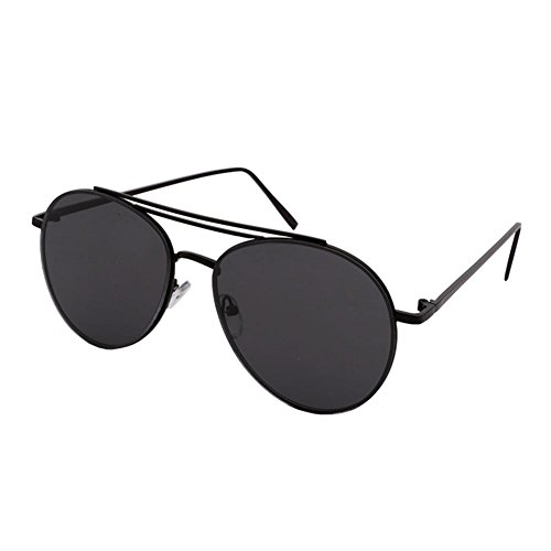 de sol cara la las las de de de la gafas y los de pink gafas gafas cara de Alger moda la de gafas de hombres sol Black Film Black sol de de Frame las B8HxZSa