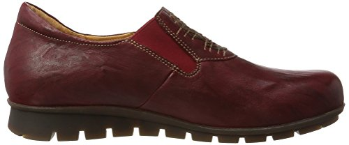 Think! Women's Menscha_181079 Loafers, Black Red (Red/Kombi 72)