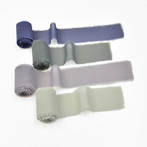 Mixsuperstore Chiffon Ribbon Fringe Color Swatch 1-3/4