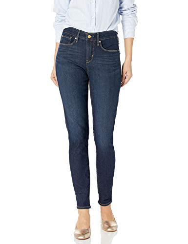 Signature by Levi Strauss & Co Women's Totally Shaping Skinny Jeans, Gala, 14 Short