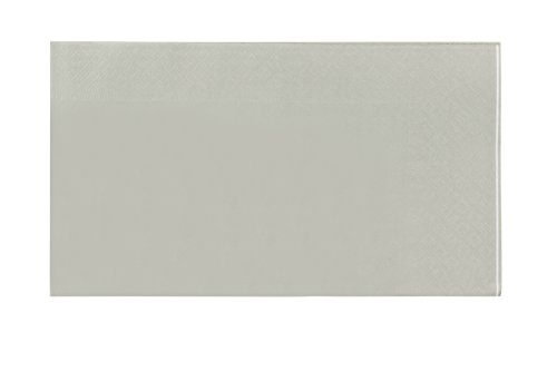 Paper Napkins - 120-Pack Disposable Paper Napkins - 2-Ply Absorbent Napkins for Everyday Kitchen, Weddings, Birthday Parties, Silver, 15.5 x 13 Inches by Blue Panda