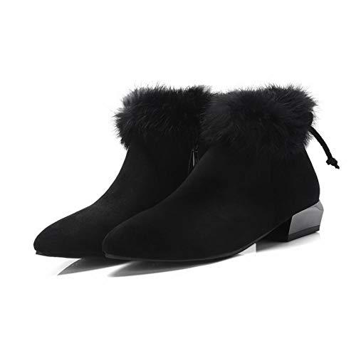 Stivali Elegante MissSaSa Boots Nero Winter Donna qPI1w410AW