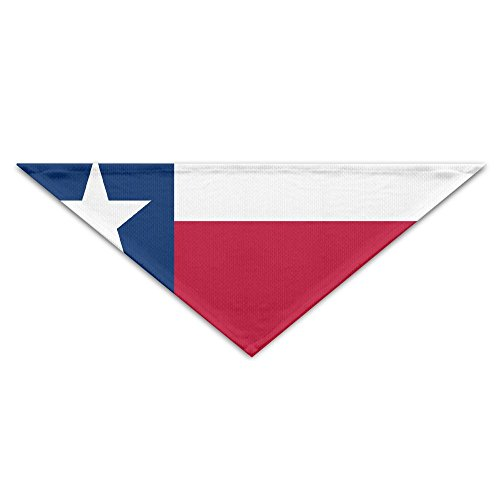 Texa Flag Pet Scarf Dog Bandana Pet Collars Triangle Neckerchief Puppy Triangle Triangle Bibs Scarfs For Pet Dogs