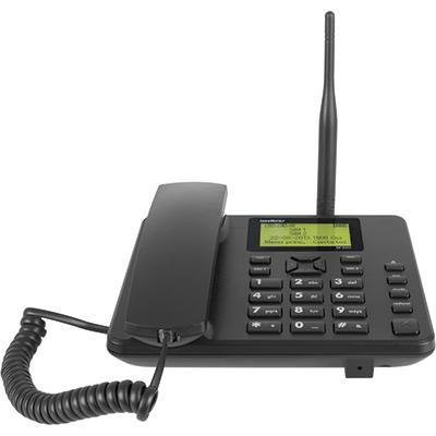 Telefone Celular Fixo de Mesa Intelbras CF 5002 GSM Dual CHIP