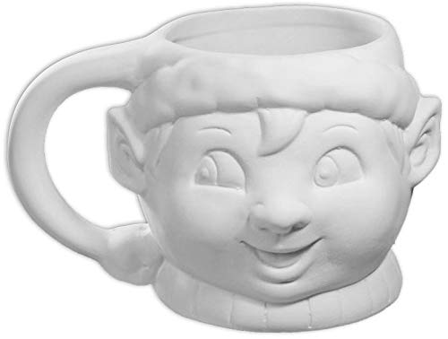 - Happy Elf Mug - Paint Your Own Ceramic Keepsake