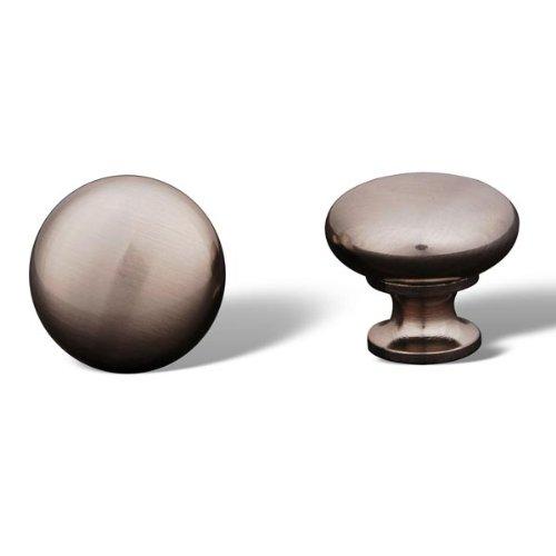 Rk International - Pewter Rki Thin Mushroom Knob (Rkick1118P)