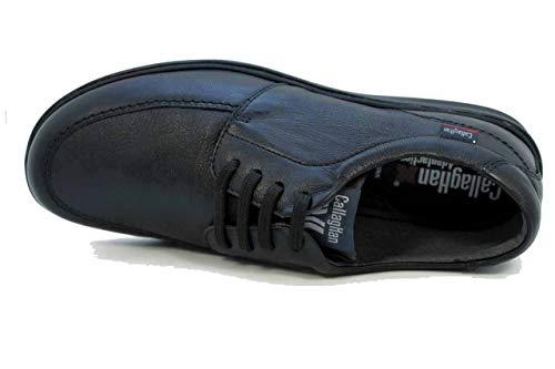 Hombre Negro Suela Gazer 91400 Callaghan Eu 44 Adaptación Zapato qUHZOTF