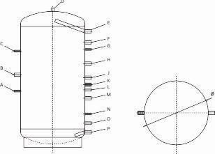 ThermoFlux - Calentador de agua sin intercambiador de calor (800 litros)