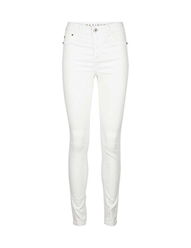 Jeans DESIRES Eika Destroy Blanco Blanco