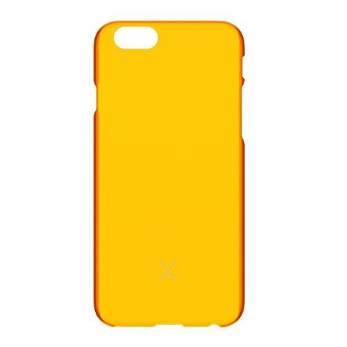 Philo Snap Case per iPhone 6/6S, Arancione Fluo