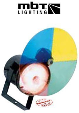 MBT Lighting P154CW Color Wheel Pin Spot Light