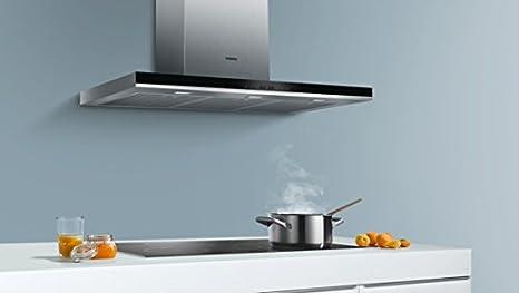 Siemens LC98BA572 - Campana (Canalizado/Recirculación, 860 m³/h, A, Montado en pared, LED, 897 Lux) Acero inoxidable: 514.82: Amazon.es: Grandes electrodomésticos
