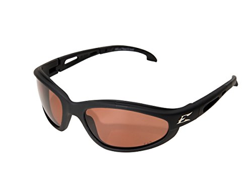 - Edge Eyewear TSM215 Dakura Polarized Safety Glasses, Black with Copper