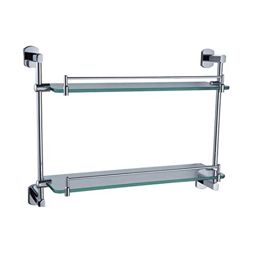 Chrome Oval Pendant - PQPQPQ Contemporary Chrome Plated Oval Base, Bathroom Pendant Set, Towel bar Rack,Rack 2