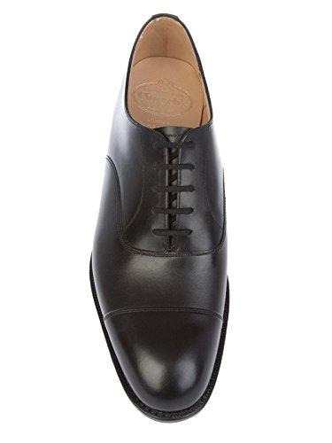 Churchs Zapatos de Cordones Para Hombre Negro Negro It - Marke Größe