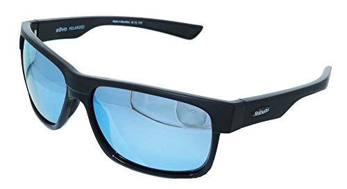 Camden Glass (Revo Re 5011x Camden Polarized Sport Sunglasses Rectangular, Matte Black, 60 mm)
