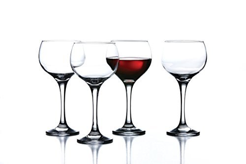 AMBASSADOR WINE GLASSES - AMBASSADOR COLLECTION 18 OUNCE WINE GLASSES by Crystal Clear