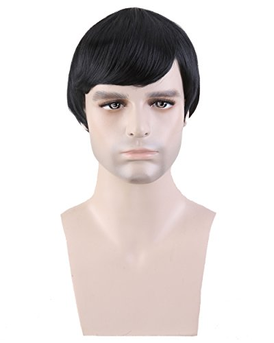 Men's Black Hair Wig
